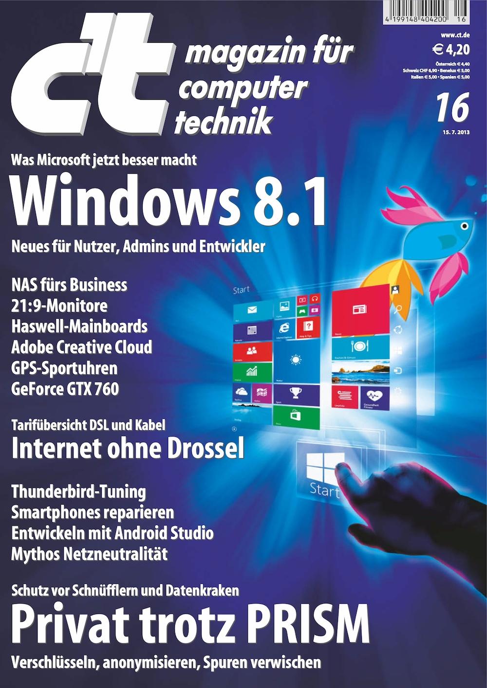c't Magazin 2013-16