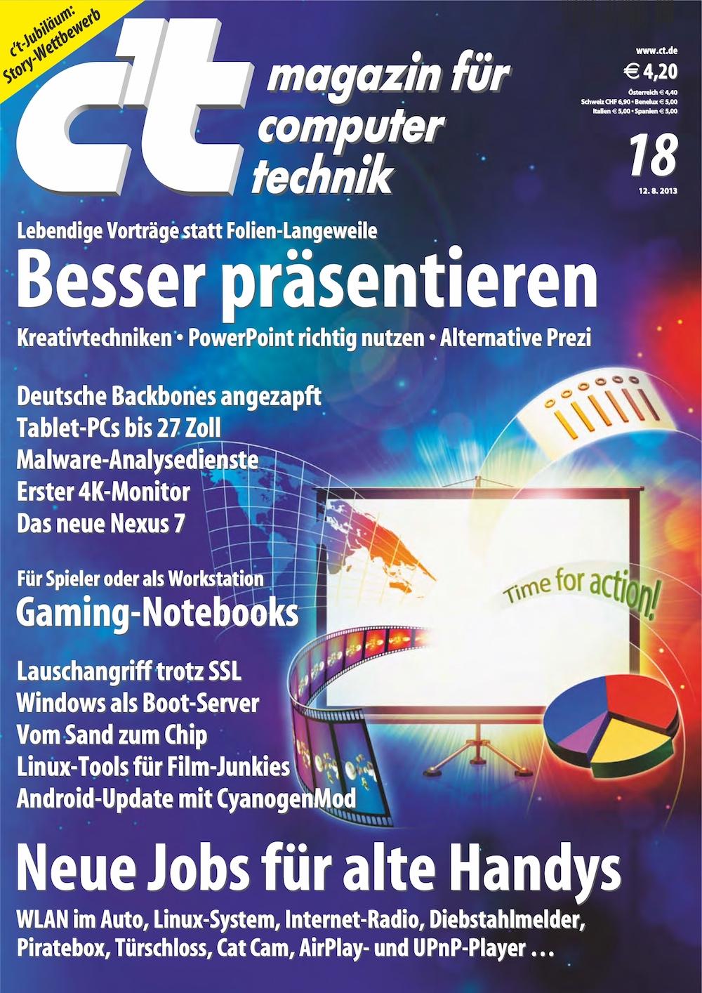 c't Magazin 2013-18