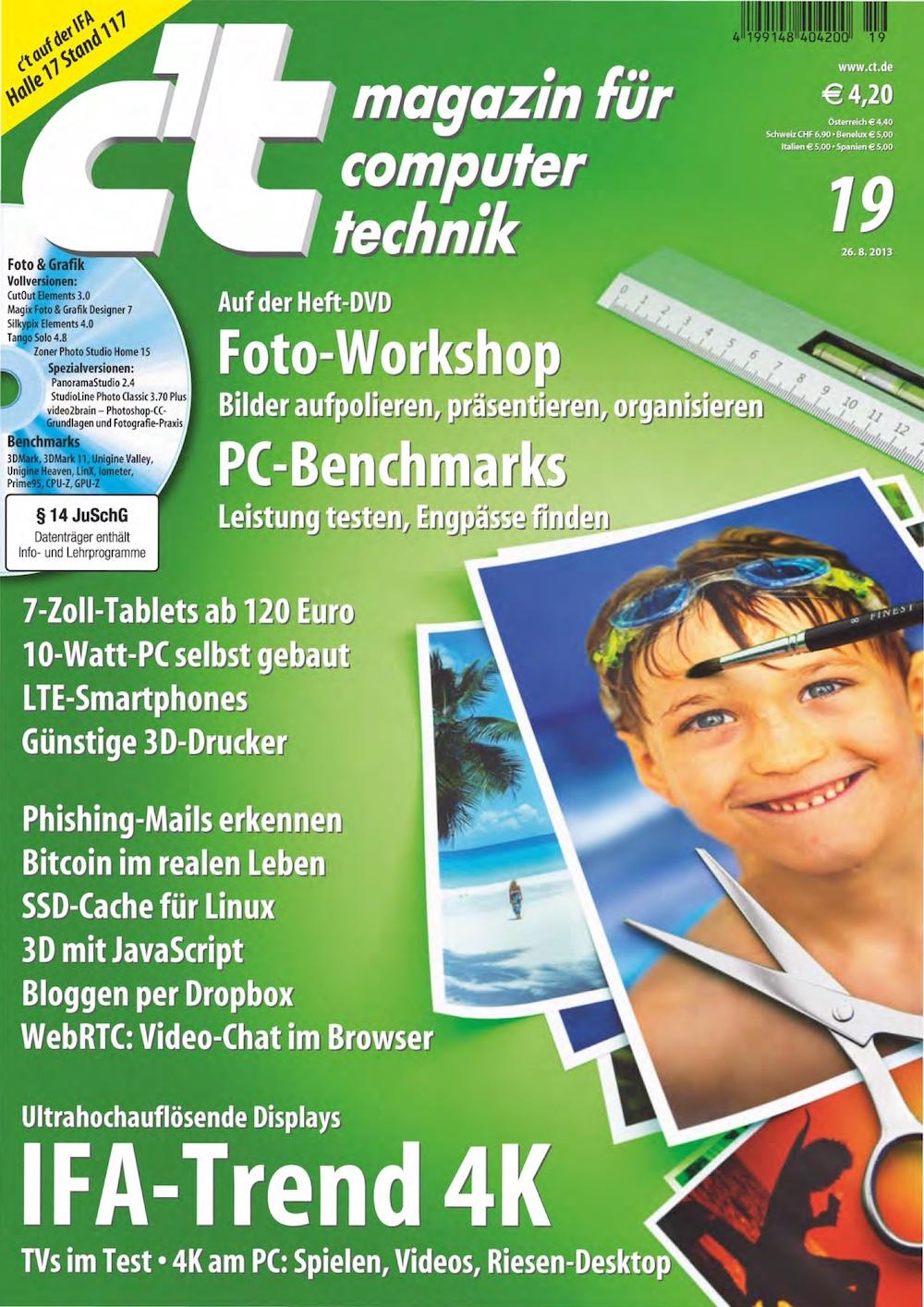c't Magazin 2013-19