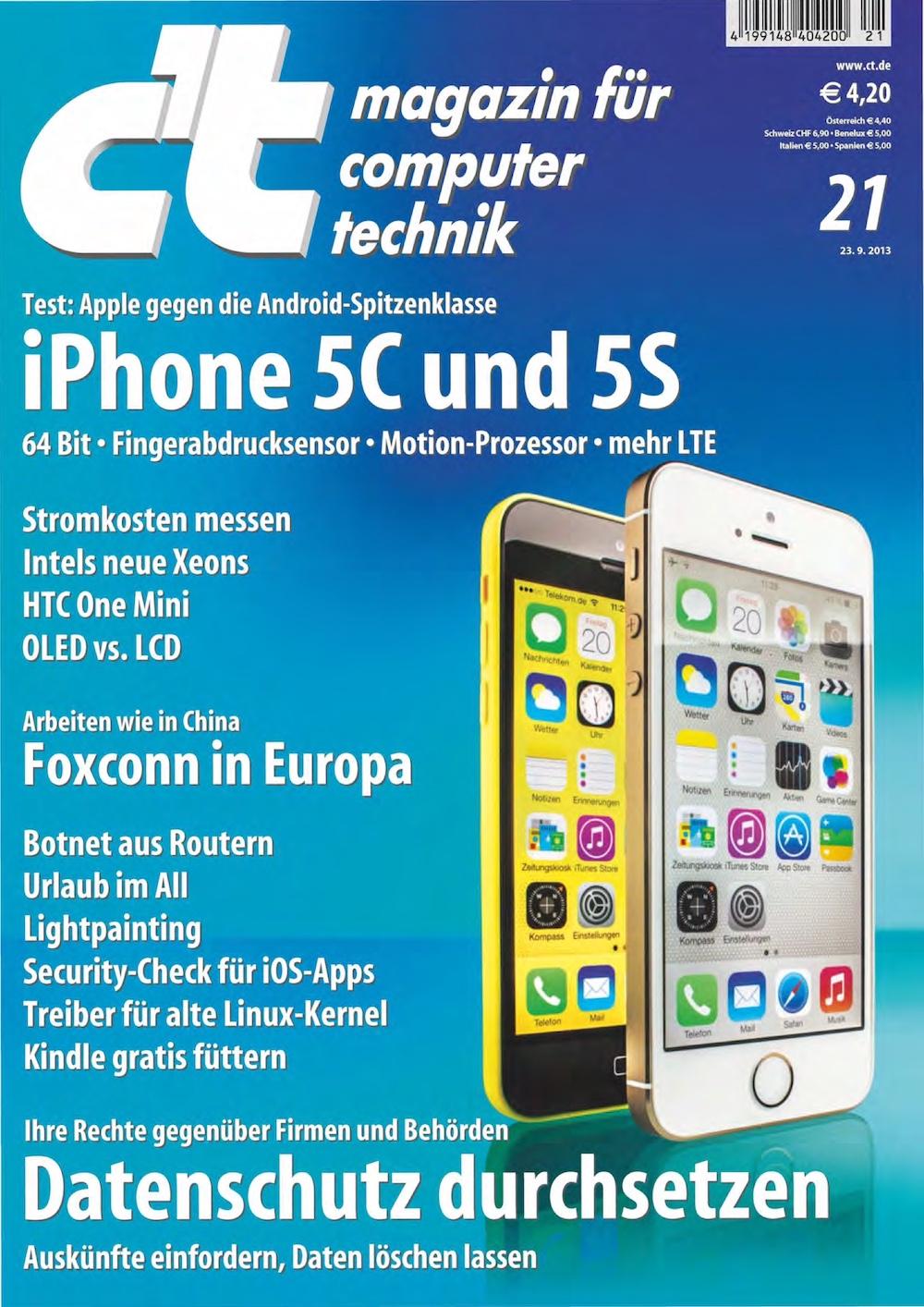 c't Magazin 2013-21