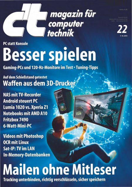 c't Magazin 2013-22