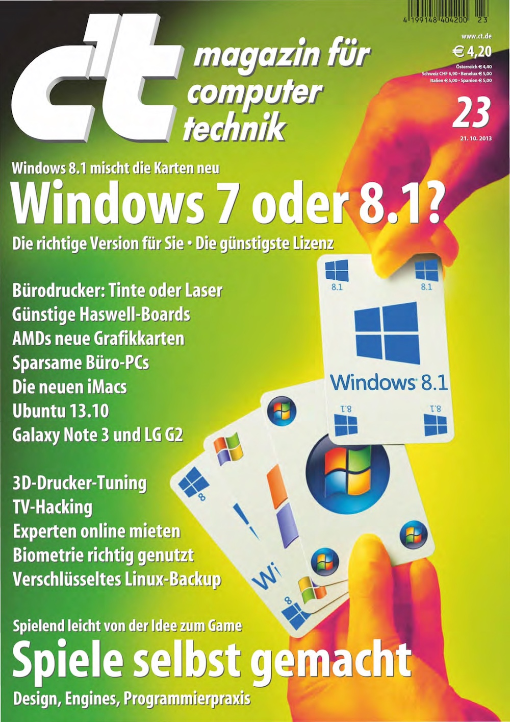 c't Magazin 2013-23