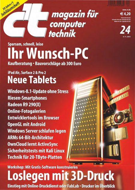 c't Magazin 2013-24