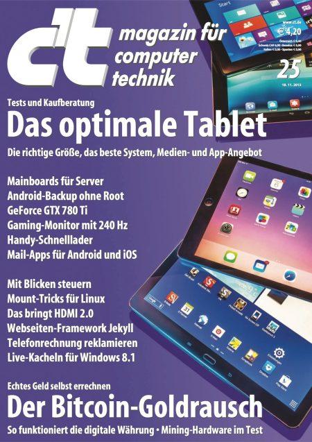 c't Magazin 2013-25