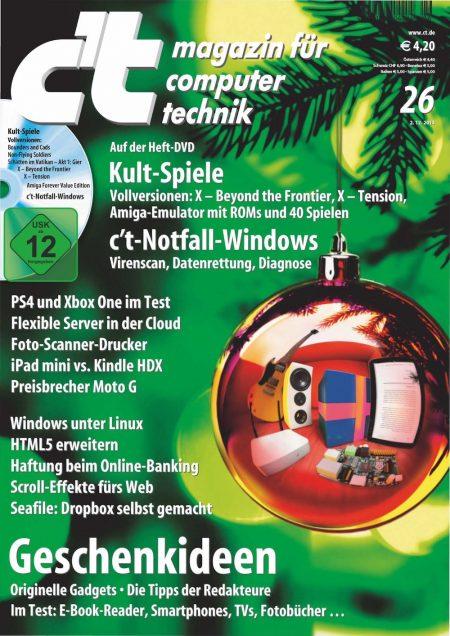 c't Magazin 2013-26