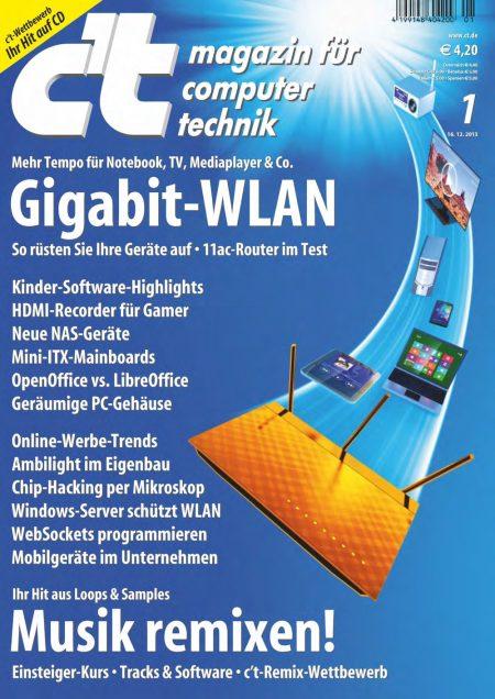 c't Magazin 2014-01