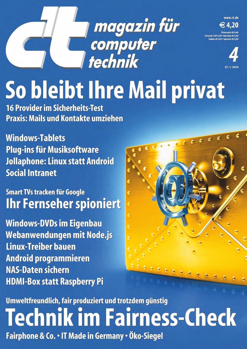 c't Magazin 2014-04