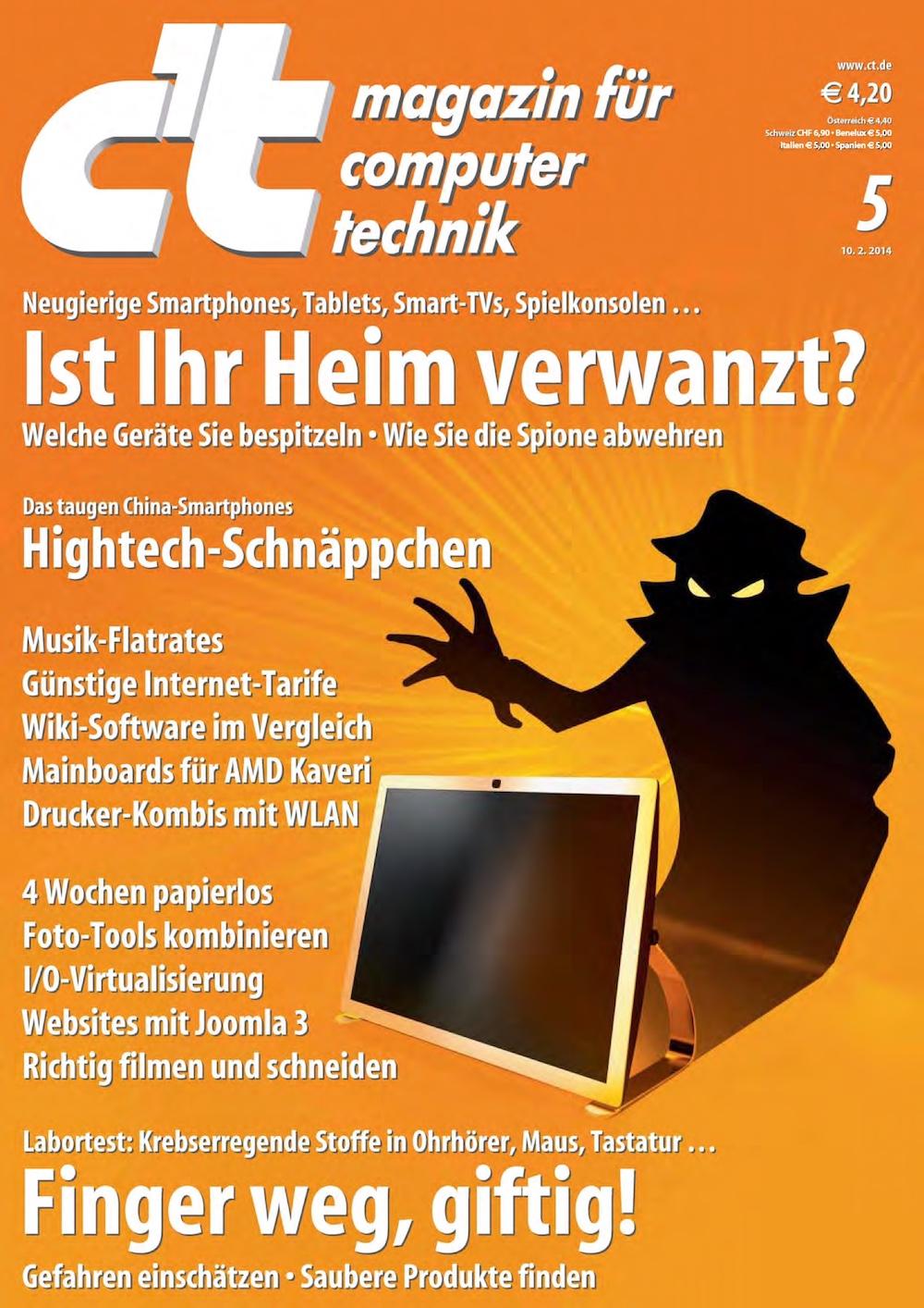 c't Magazin 2014-05
