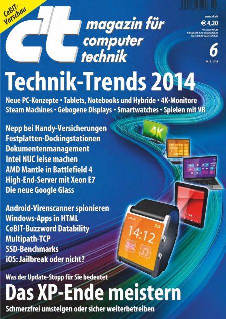 c't Magazin 2014-06