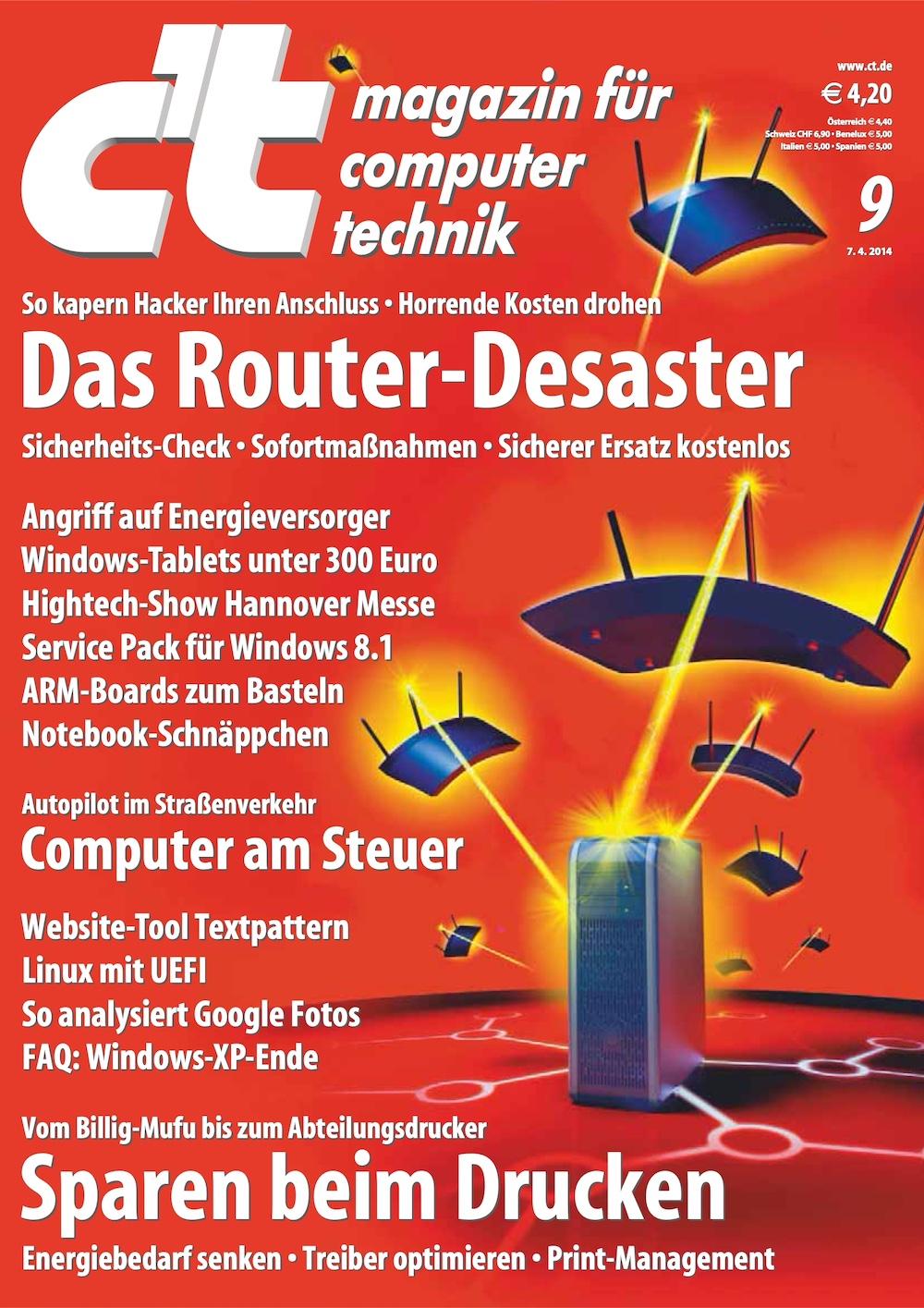 c't Magazin 2014-09