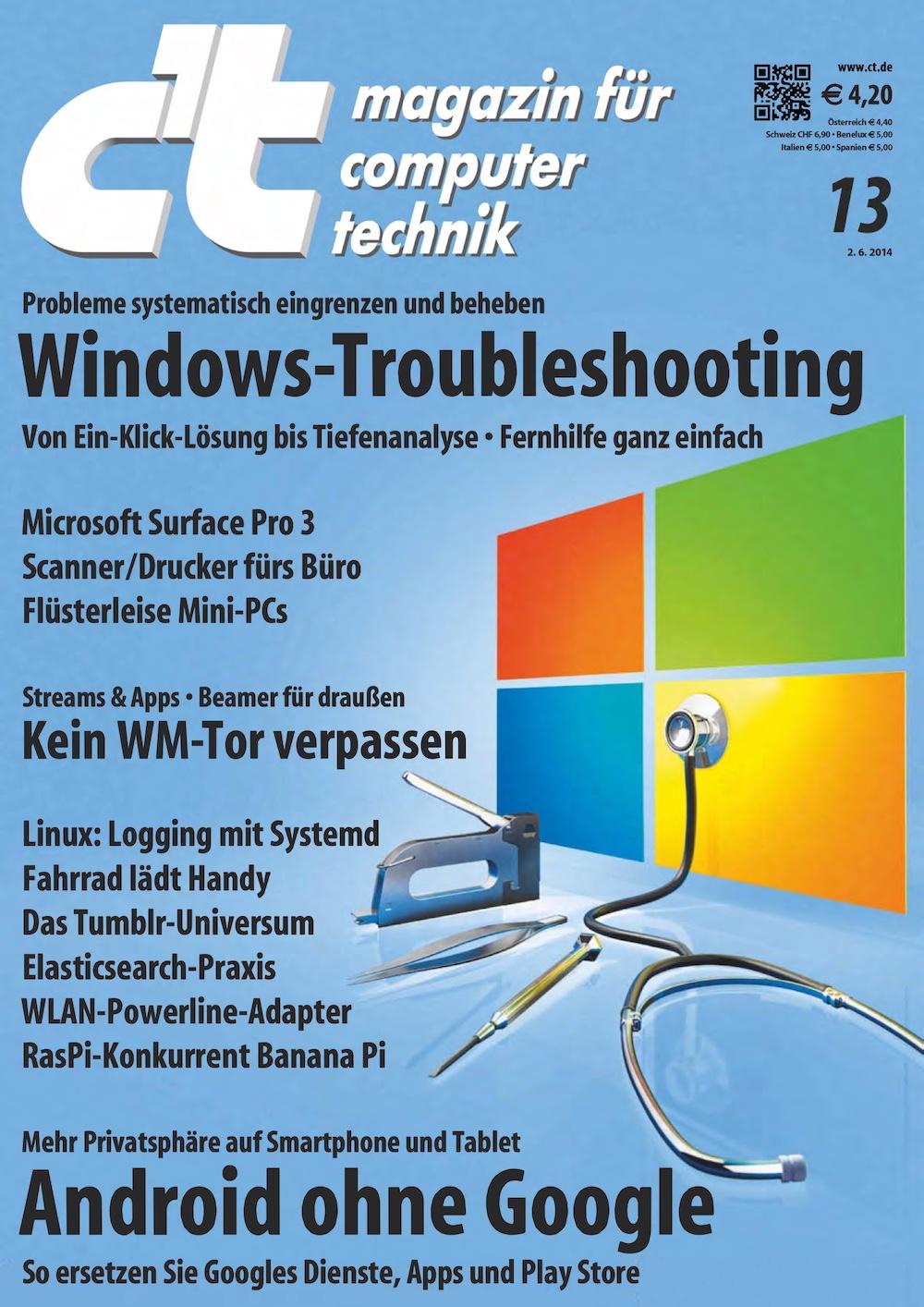 c't Magazin 2014-13