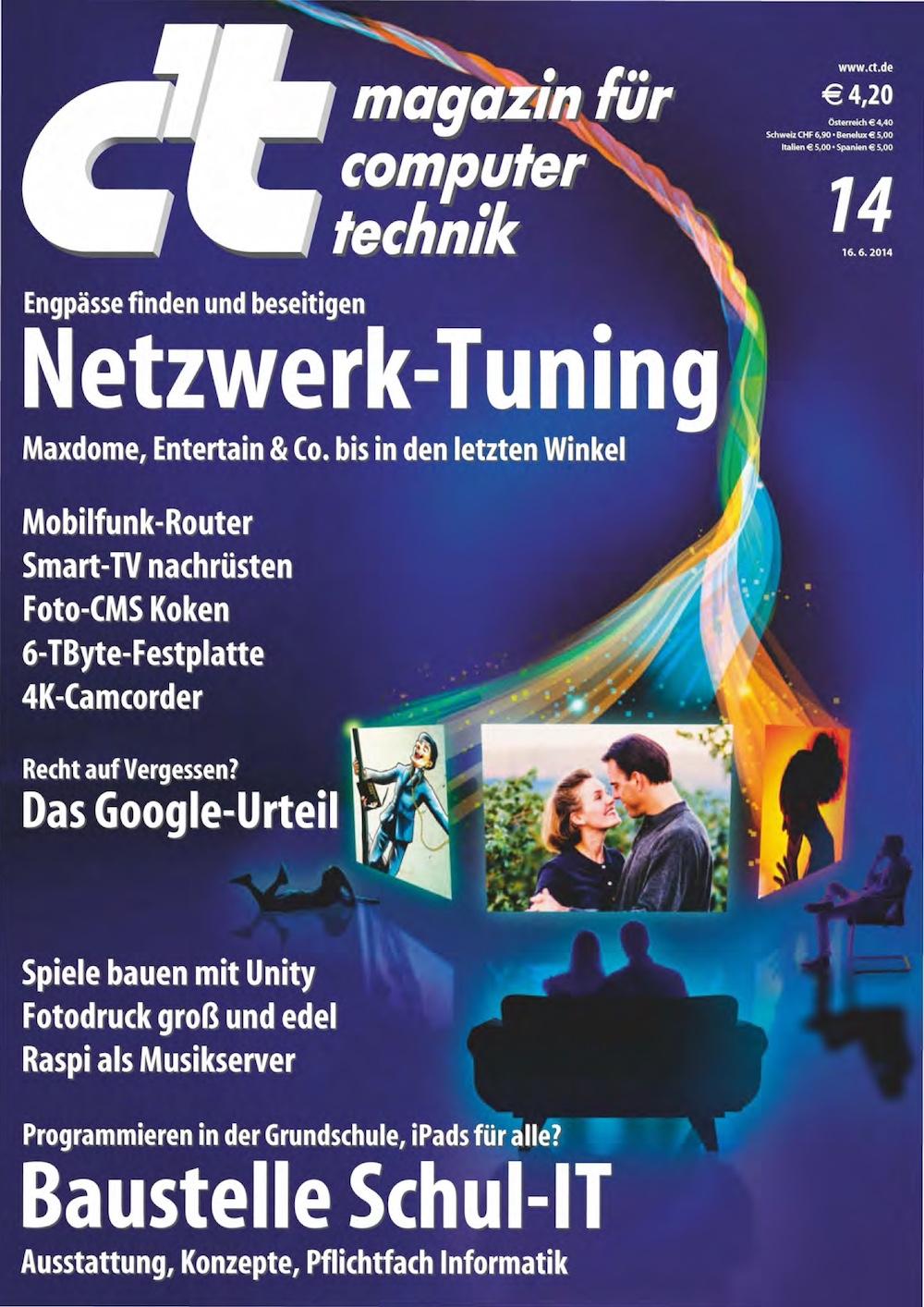 c't Magazin 2014-14