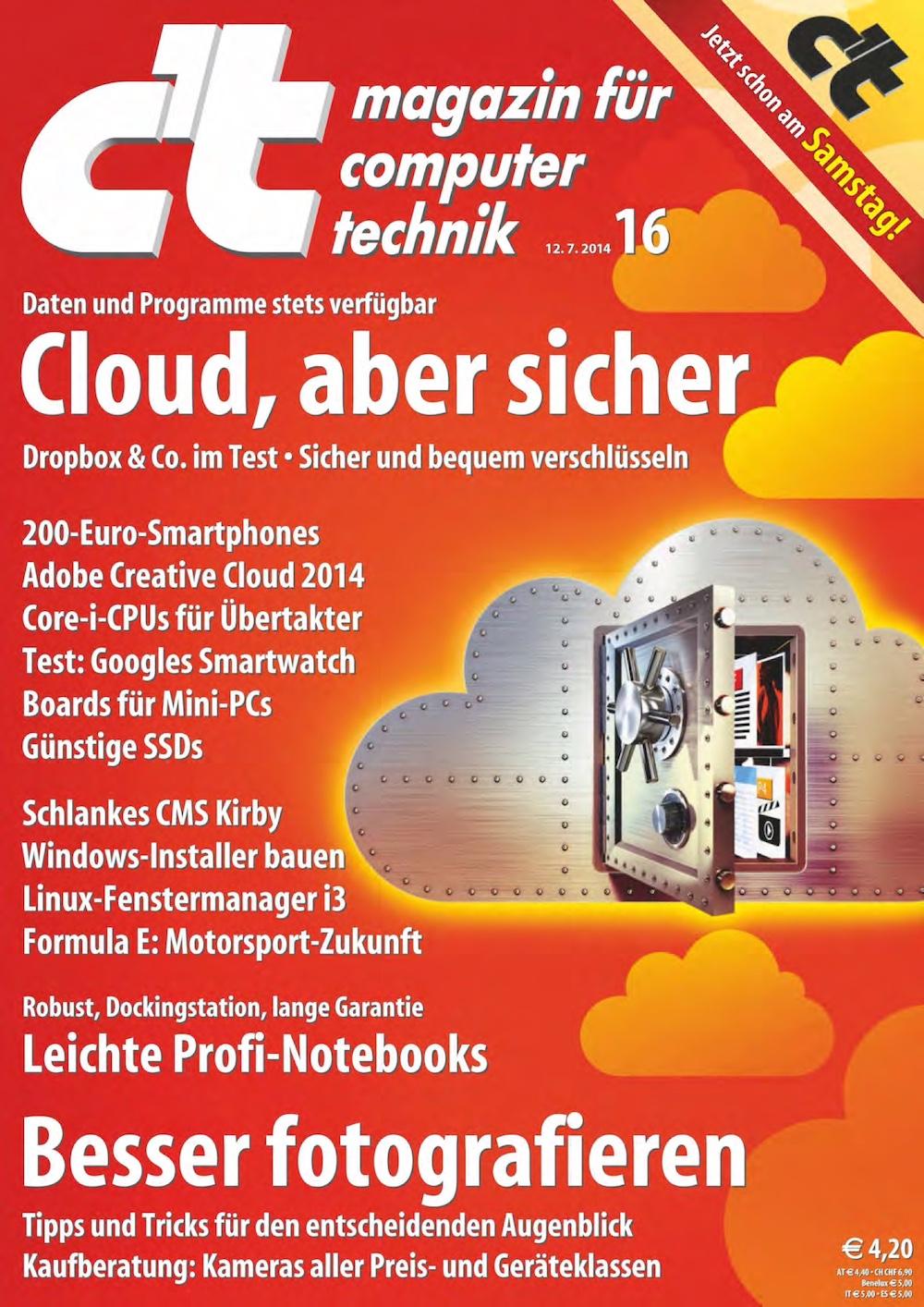 c't Magazin 2014-16