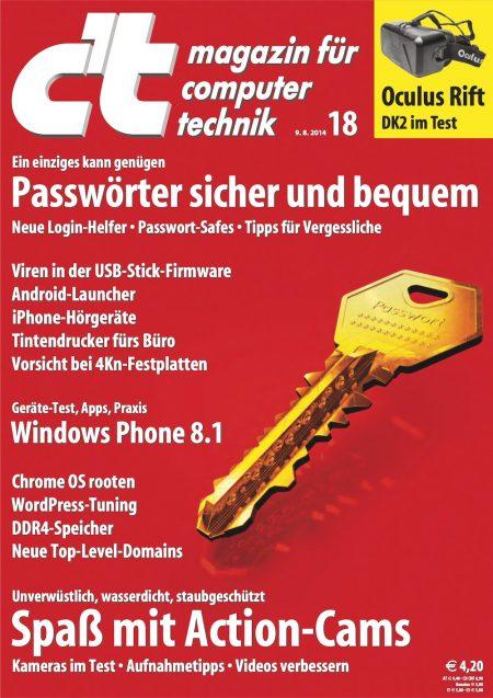 c't Magazin 2014-18