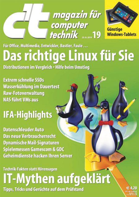 c't Magazin 2014-19