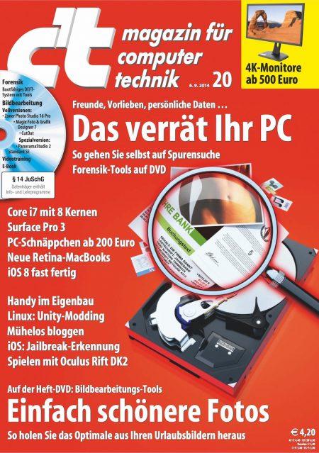 c't Magazin 2014-20