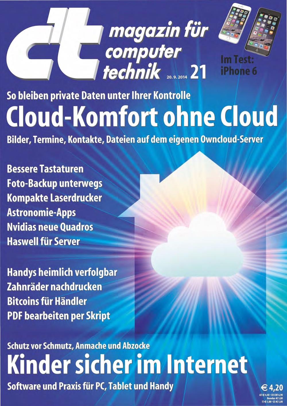 c't Magazin 2014-21