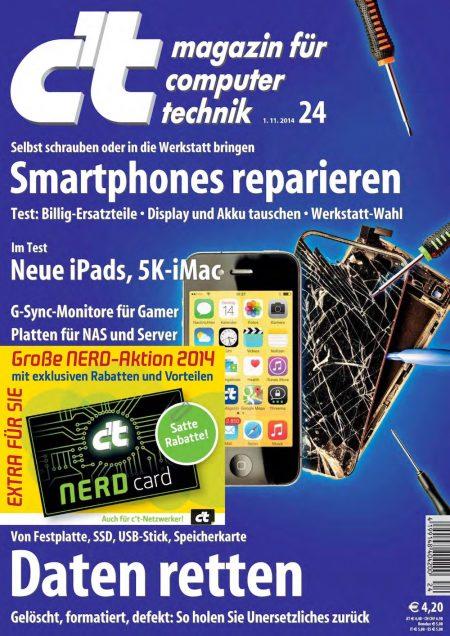 c't Magazin 2014-24