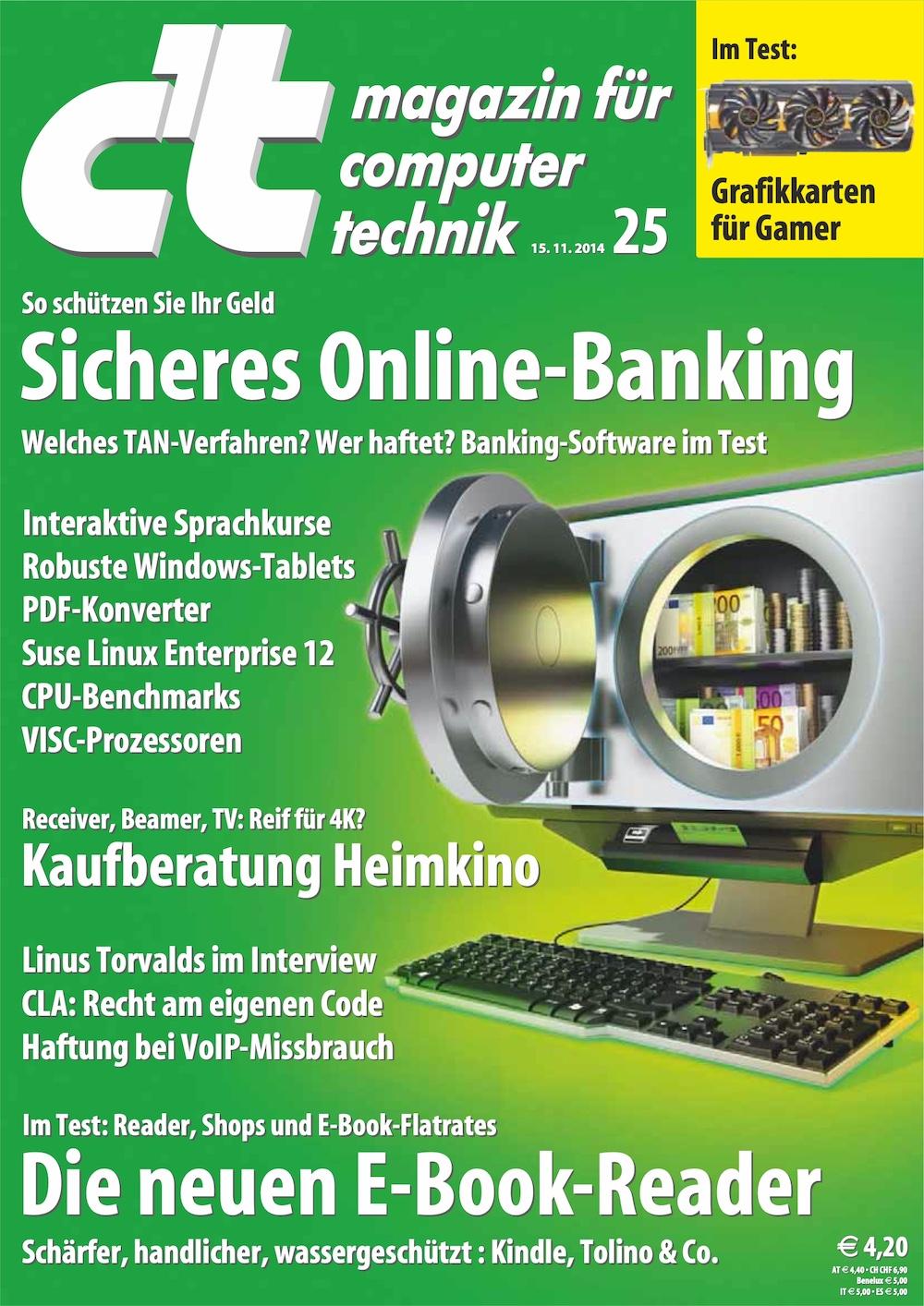 c't Magazin 2014-25