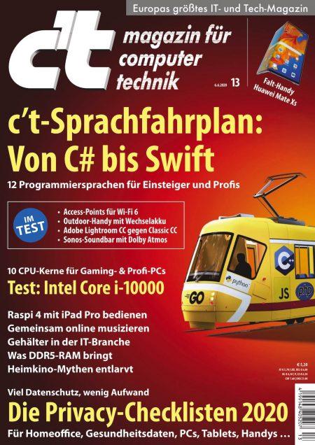 c't Magazin 2020-13