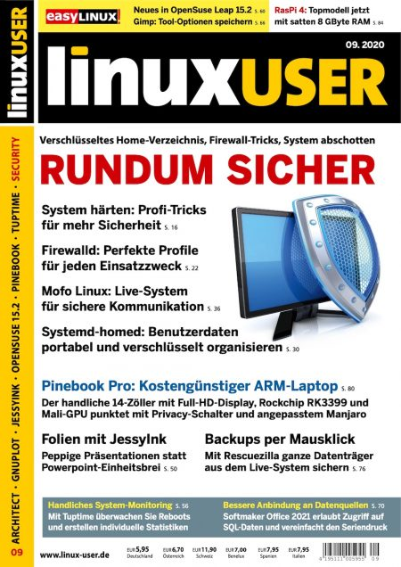Linux User 2020-09