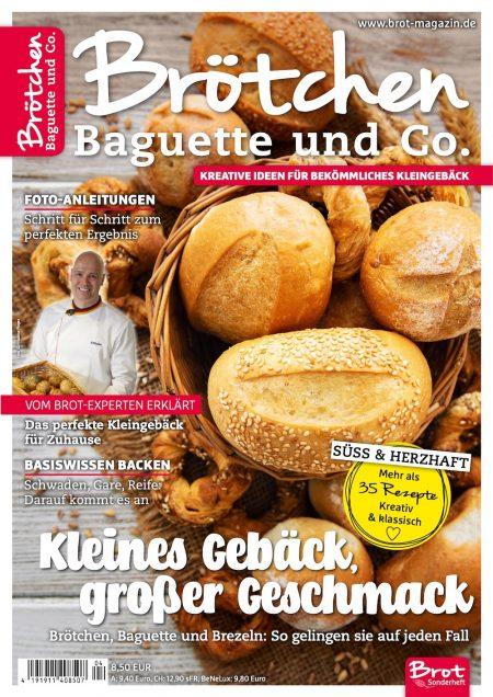 Brot Sonderheft Brötchen 2020-04