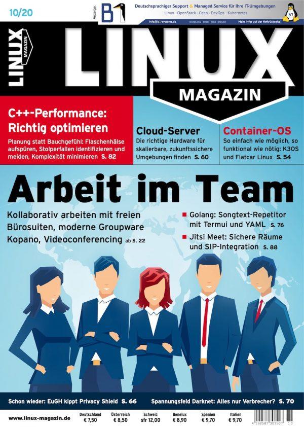 Linux Magazin 2020-10