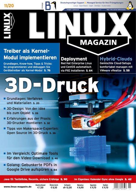 Linux Magazin 2020-11