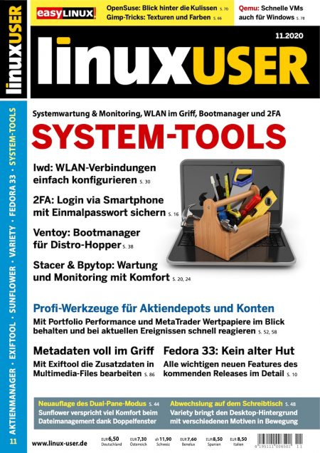 Linux User 2020-11