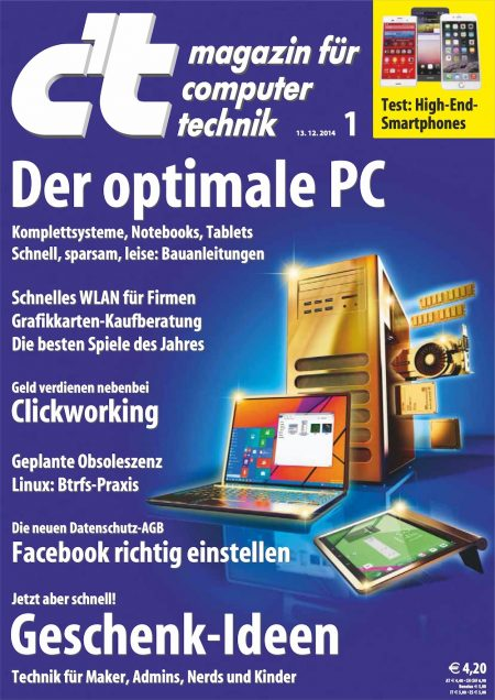 c't Magazin 2015-01