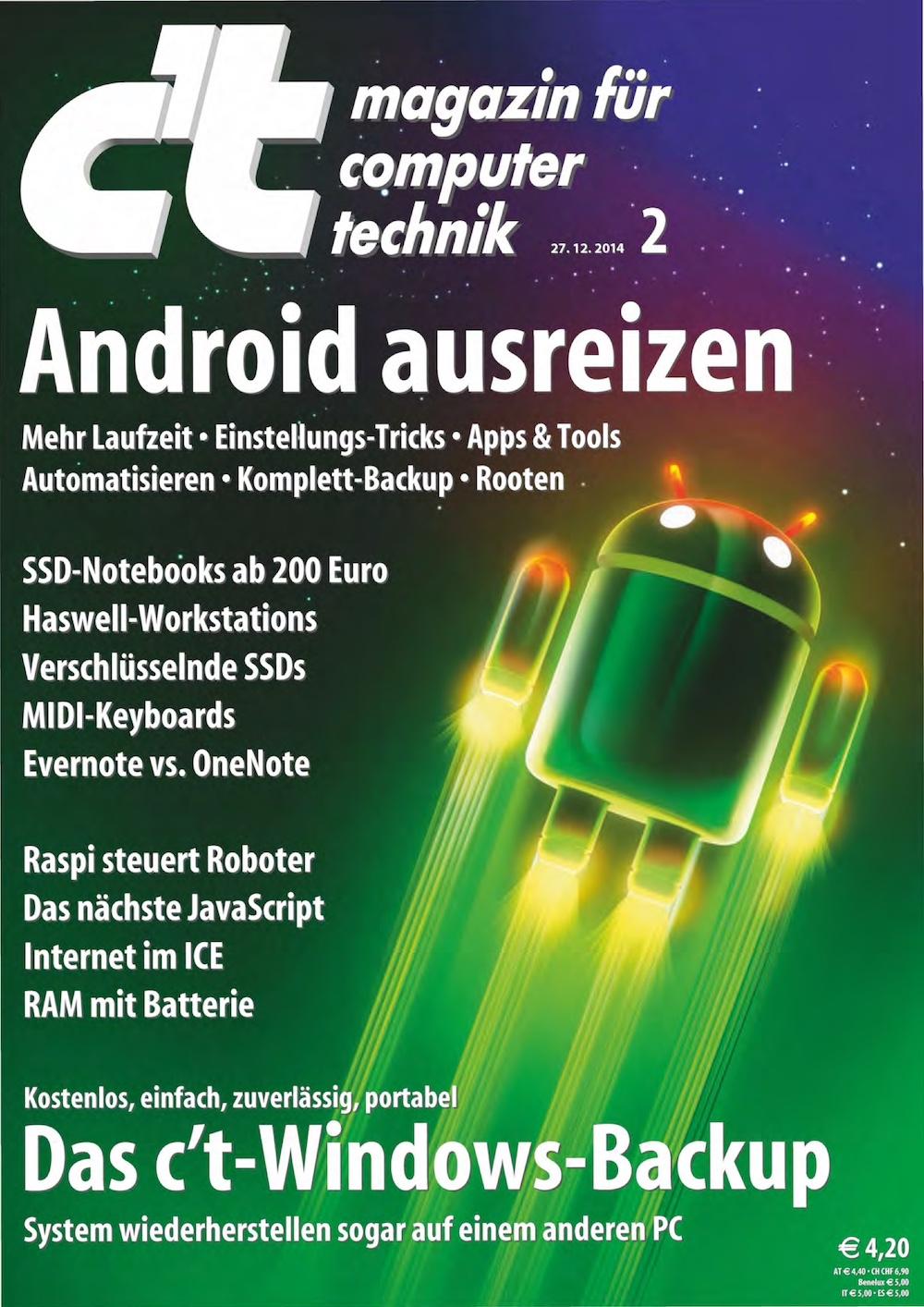 c't Magazin 2015-02
