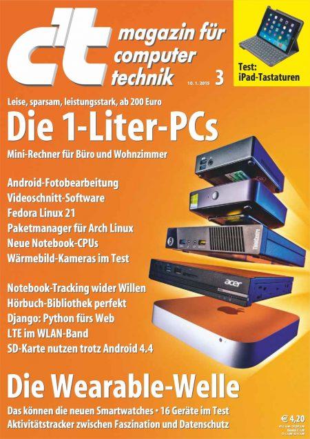 c't Magazin 2015-03
