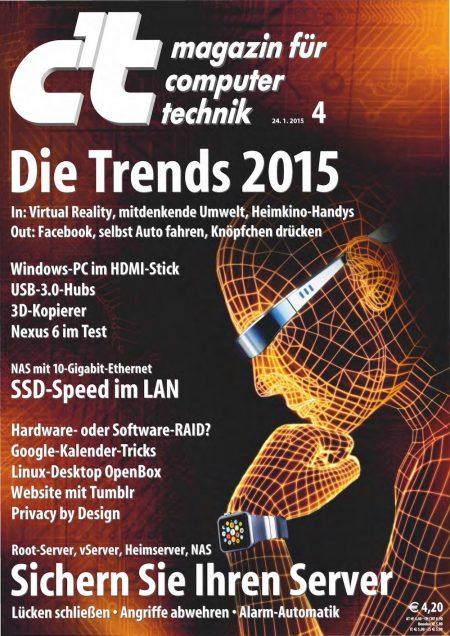 c't Magazin 2015-04