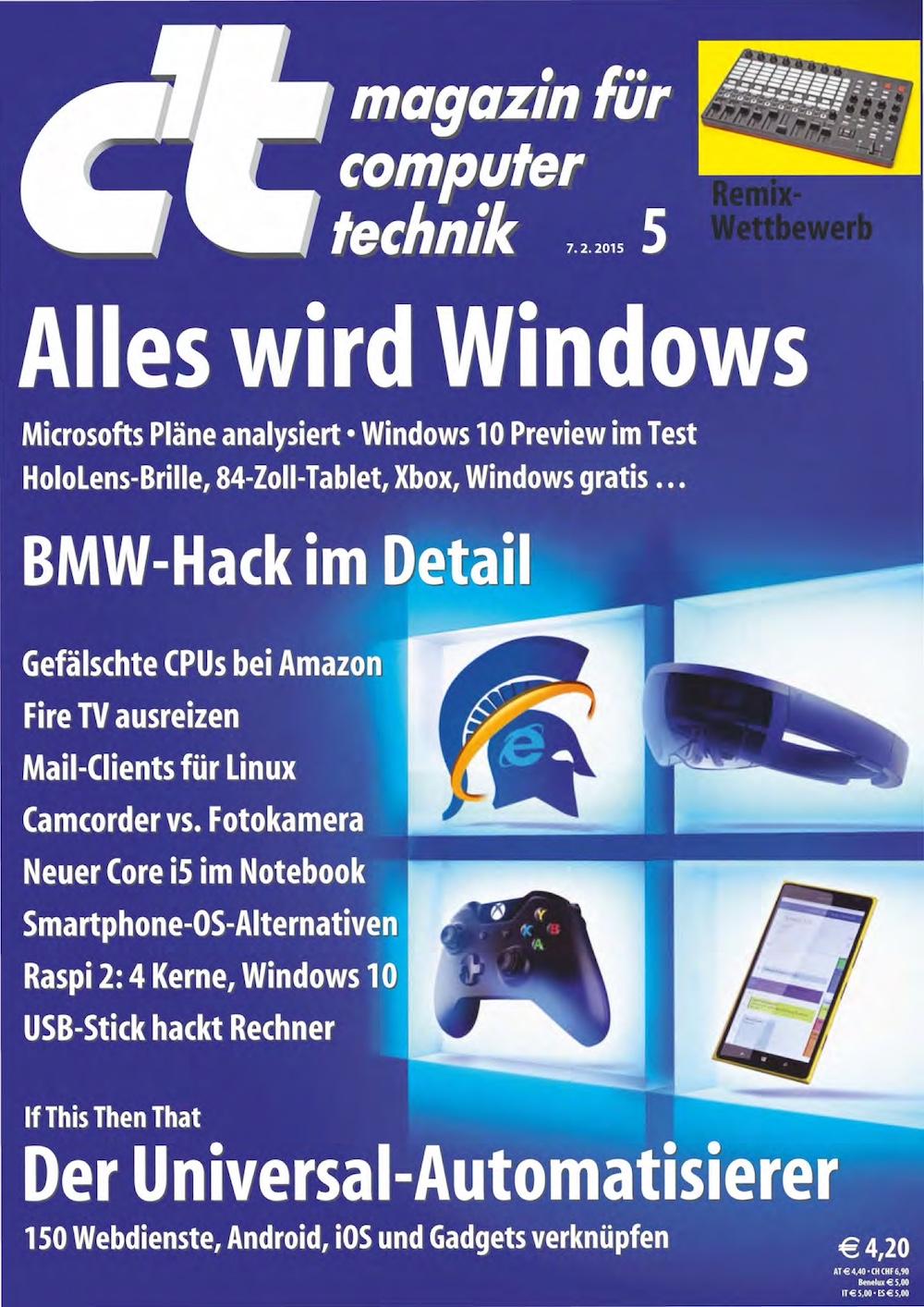 c't Magazin 2015-05