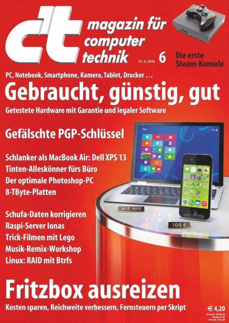 c't Magazin 2015-06