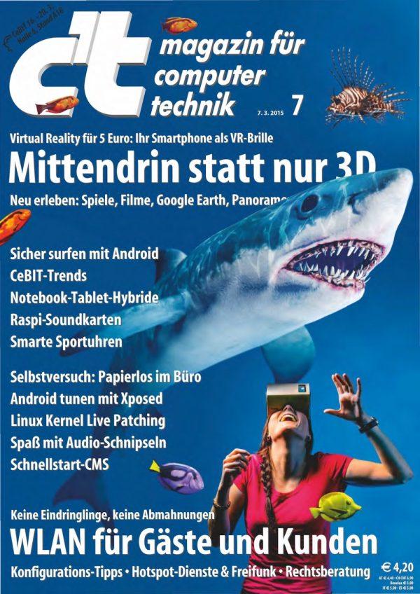 c't Magazin 2015-07
