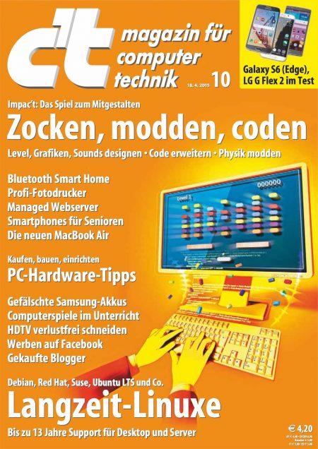 c't Magazin 2015-10