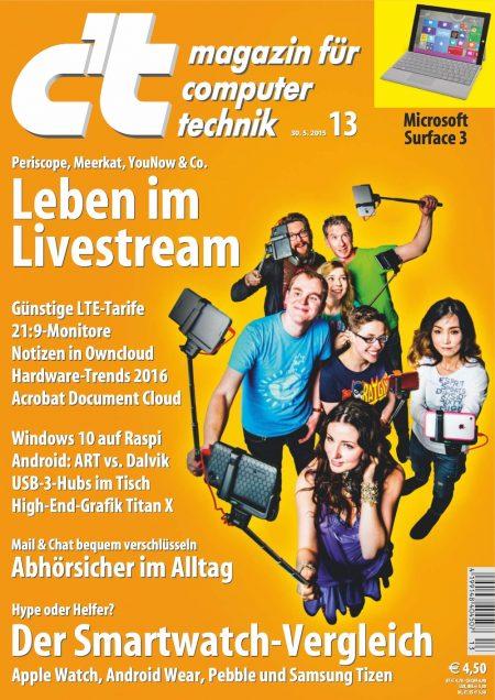 c't Magazin 2015-13