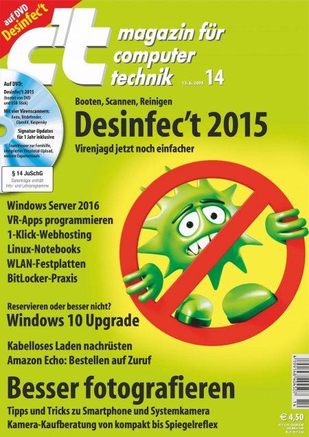 c't Magazin 2015-14