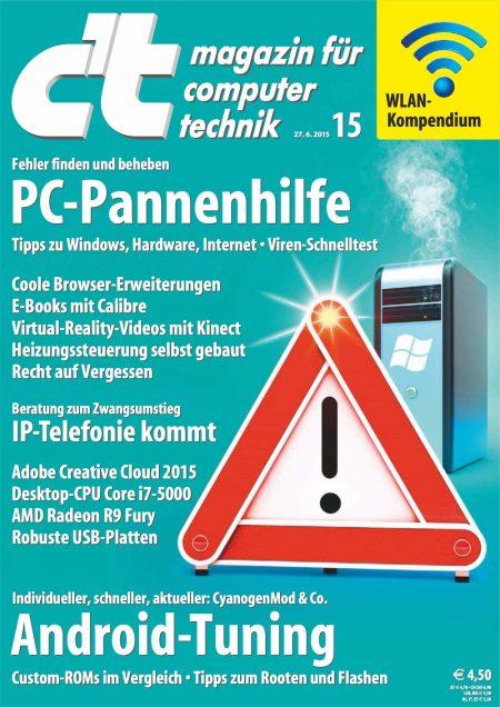 c't Magazin 2015-15