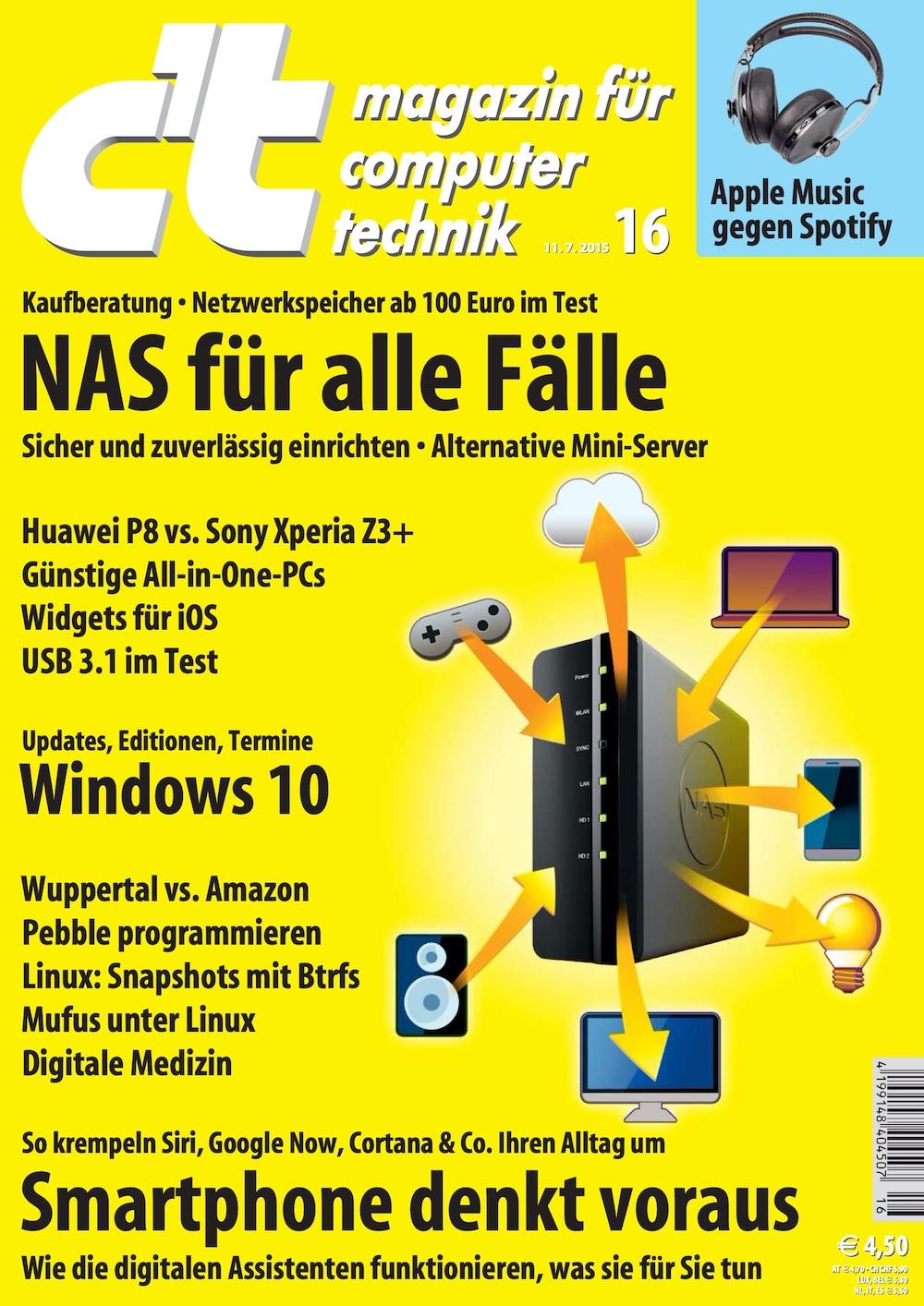 c't Magazin 2015-16