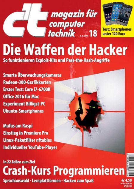 c't Magazin 2015-18