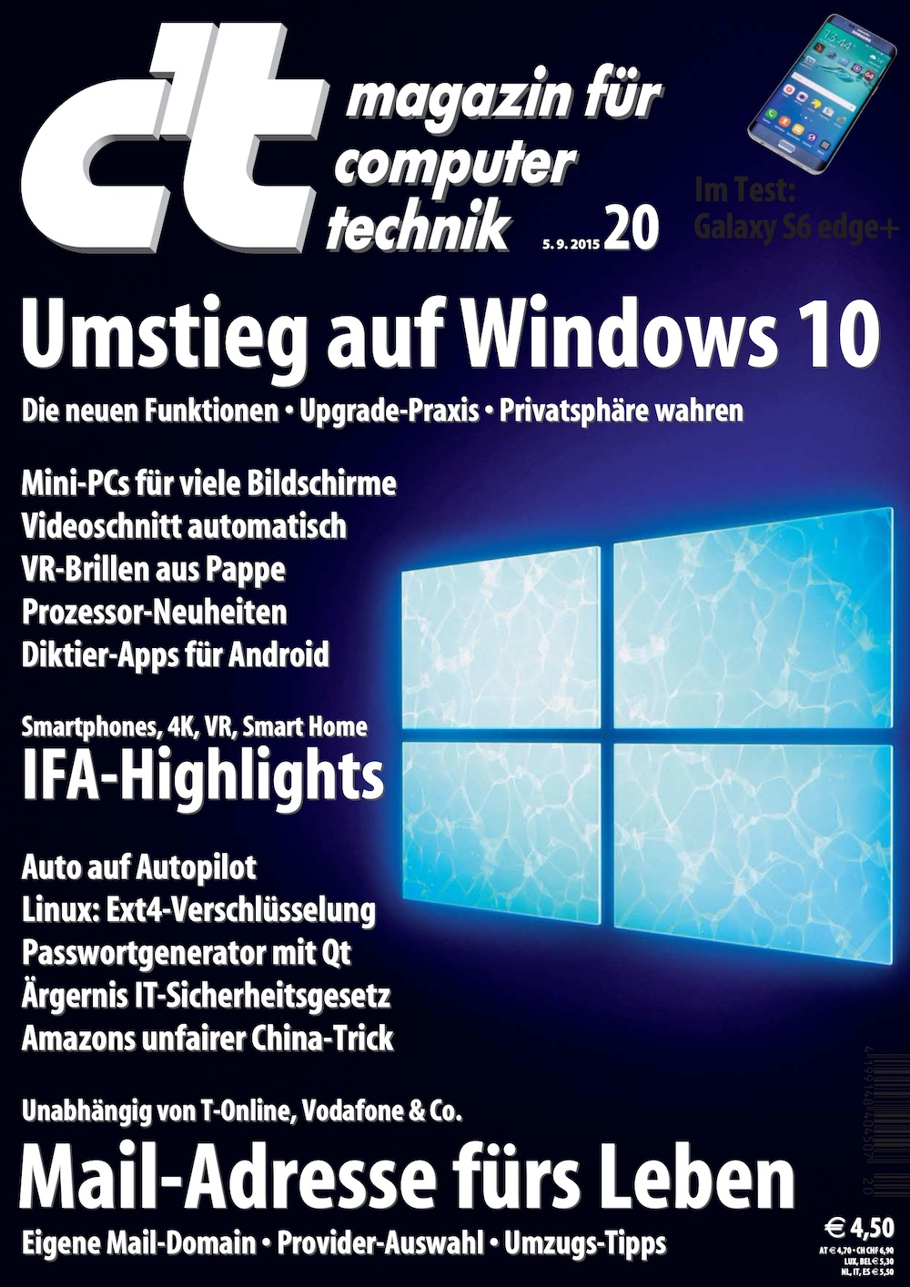 c't Magazin 2015-20