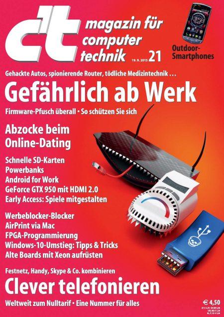 c't Magazin 2015-21