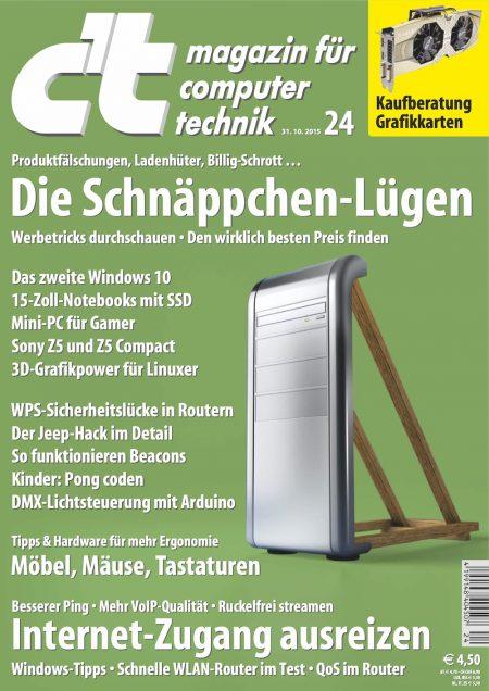c't Magazin 2015-24