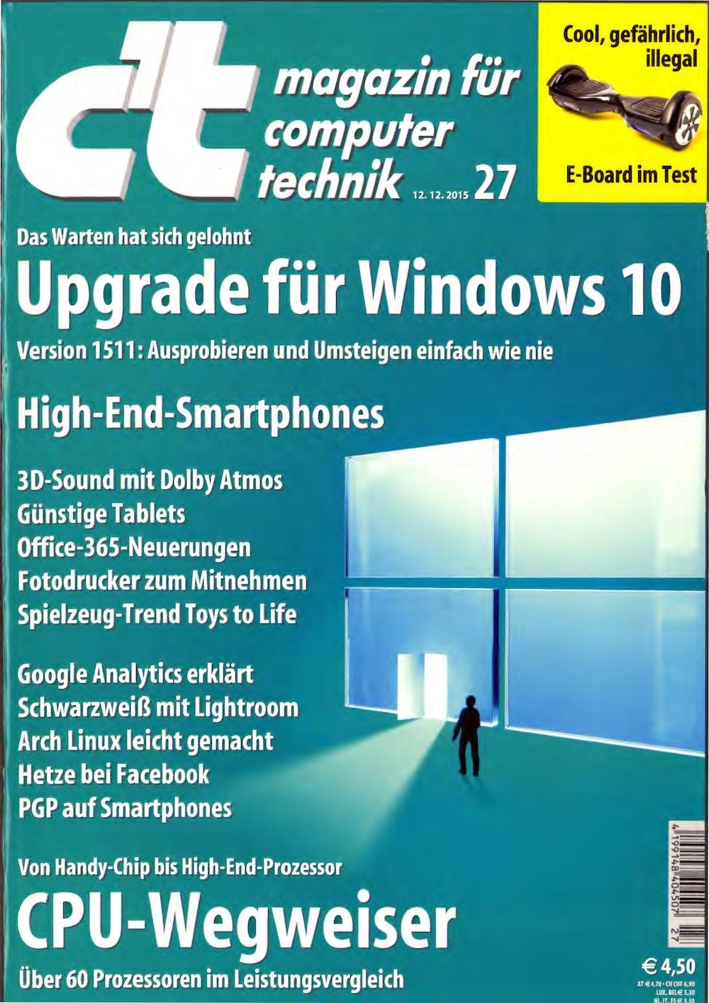 c't Magazin 2015-27