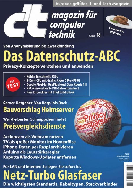 c't Magazin 2020-18