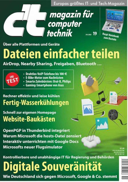 c't Magazin 2020-19