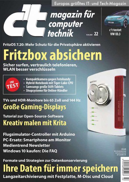 c't Magazin 2020-22