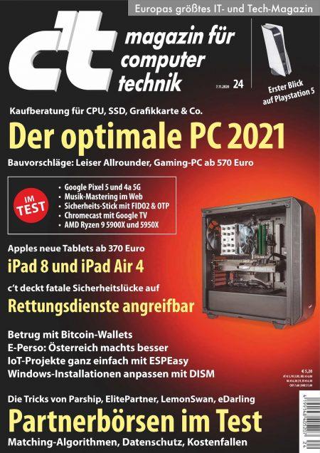 c't Magazin 2020-24